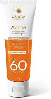 Actine Protetor Solar Fps 60 Cor Universal, Darrow, 40G