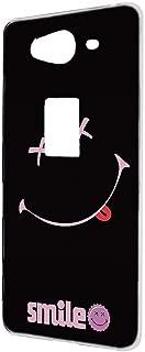 ケース 携帯ケース AQUOS ZETA SH-01H 【ペケポン:ピンク】 スマイル スマホケース 携帯カバー [FFANY] pekepon-h190953