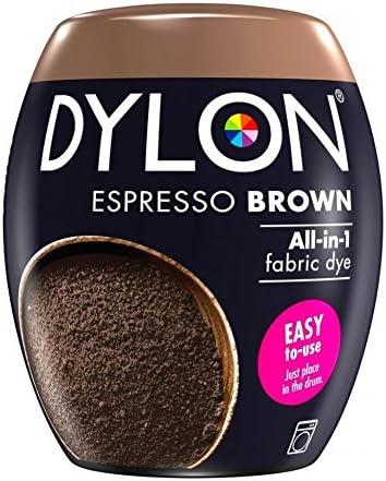 Dylon Machine Fabric Dye Pod Tampa Mall Brown 40% OFF Cheap Sale Espresso