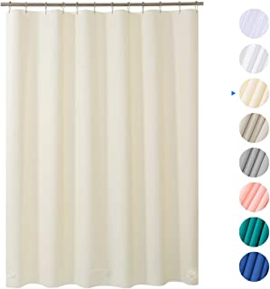 Amazer Shower Curtain 72 X Beige EVA 8G Mildew Resistant Thick Bathroom