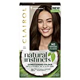 Clairol Natural Instincts Semi-Permanent No Ammoniak Vegan Haarfarbe, 5 Mittelbraun, 177 ml