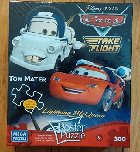 hermoso Disney Poster Poster Poster Puzzle - Cars Take Flight by Mega Puzzles  mas preferencial