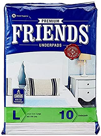 FRIENDS Underpads Premium Large size (Pack of 5)