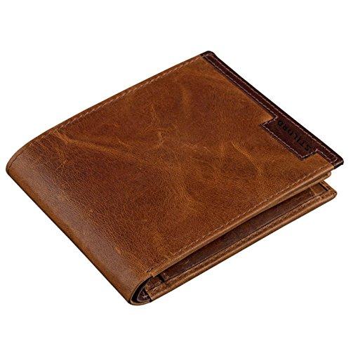 STILORD Vintage Herren Geldbörse Portemonnaie Brieftasche Geldbeutel aus hochwertigem Echt Leder,...