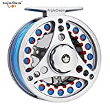 ANGLER DREAM AnglerDream 7 8WT Fly Reel with Line Combo Large Arbor Aluminum Fly Fishing Reels