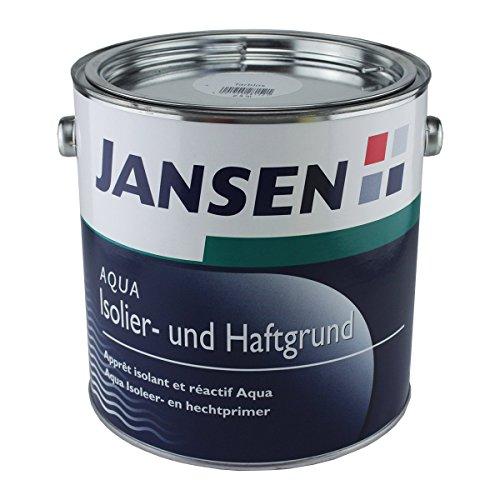 Jansen Aqua Isolier- und Haftgrund, 2,5 in weiß seidenglanz