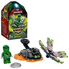 NINJAGO Building set for kids featuring Spinjitzu spinner and Lloyd figure to play out action scenes. Imaginative kids will love the thrills on offer with this interactive LEGO NINJAGO Spinjitzu building kit This ninja playset includes a Spinjitzu sp...