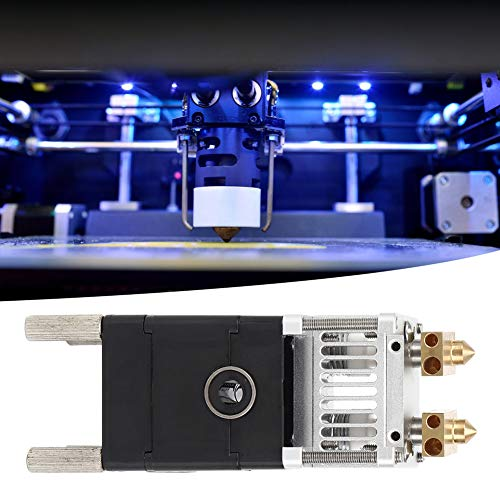 3D Printer Extruder, Printer Parts, UM2 Double Jet Extruder 3D Printer Accessories Linear Bearing for 1.75mm Consumables