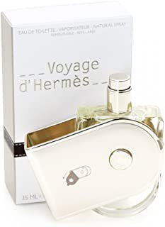 Hermes Voyage d'Hermès Eau de Toilette 35 ml wiederbe füllbares Spray – Limited Edition