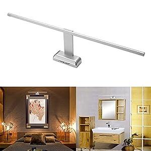 MCTECH 9W L/ámpara de pared Aplique para Espejo Ba/ño Pasillo Escalera LED L/ámpara blanco c/álido