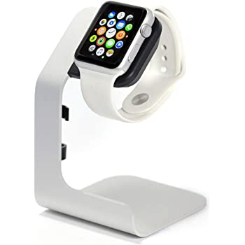 Tranesca Apple Watch stand charging dock compatible with Series 6/5/4/3/2/1/SE, 38mm/40mm/42mm/44mm Apple watch -Must have Apple watch Accessories
