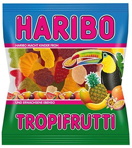 Haribo Beutel 100g, Tropi Frutti 15 x 100 g
