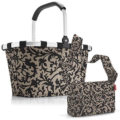 reisenthel carrybag mit Zugabe Einkaufskorb Einkaufstasche Korb (Baroque Taupe)