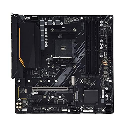 FIT FOR Gigabyte B550M AORUS Elite Placa Base AMD B550 Socket AM4 DDR4 HDMI Compatible 128GB PCI-E 4.0 M.2 Overlocking B550 Placa Base