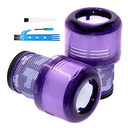 BSDY YQWRFEWYT Paquet de 2 filtres à Vide de Remplacement pour Dyson Cyclone V11 Absolute Animal Motorhead, Nettoyage Total, filtres remplace la pièce