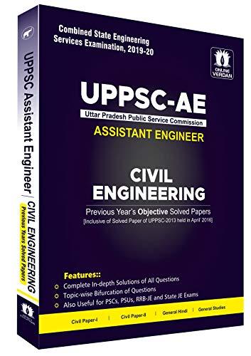 UPPSC AE Civil Engineering Topic-wise (Civil Paper-I, Civil Paper-II, General Hindi & General Studies) Previous Years Solved Paper 2020