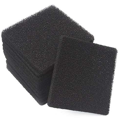 LTWHOME Compatible Carboné Filtration Tapis Convient pour Rena Filstar XP Filtres Média (Paquet de 12)