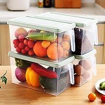 TxDike Lan Compartimientos del congelador Organizador de