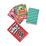 Fun Express - Pass The Ugly Sweater Card Game for Christmas - Toys - Games - Card Games - Christmas - 12 Pieces