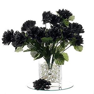 BalsaCircle 84 Silk Chrysanthemums – 12 Bushes – Artificial Flowers Wedding Party Centerpieces Arrangements Bouquets Supplies