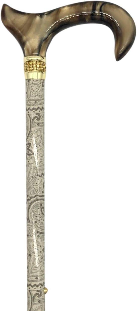 Classy Walking Canes CWC4170KHD Adjustable Bargain Pe Khaki 4 years warranty Diamonds and