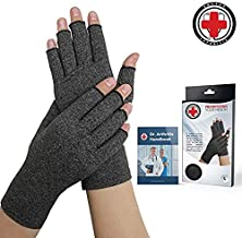 Doctor Developed Compression Gloves - Doctor Written Handbook Included: Relieve Symptoms, Raynauds Disease & Carpal Tunnel (XL)
