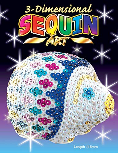 Sequin Art 1703 Hedgehog Craft Project From The 3D Range 11.5 Centimetres