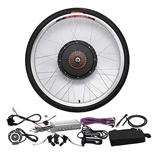 HLeoz 48V 1000W E-Bike Kit de Conversión, 26'' Kit de Conversión de Motores Eléctricos para Adultos Ciclismo para Bicicletas de Carretera Bicicleta de Montaña