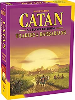 Catan: Traders and Barbarians Expansion Board Game