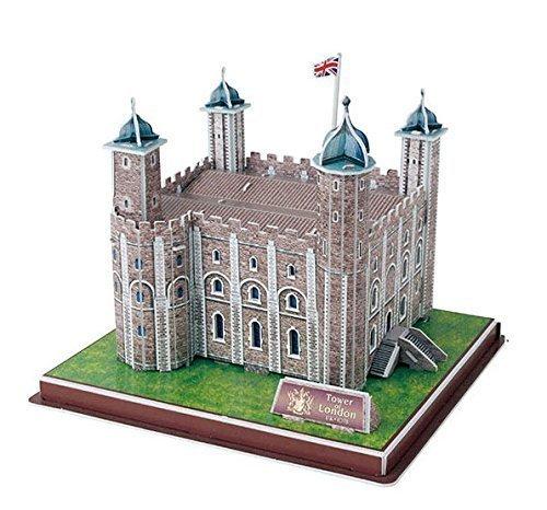 3D Tower of London Replica Landmark Model Puzzle 36 Piece Kit