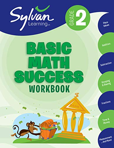 2nd Grade Basic Math Success Workbook: Activities, Exercises, and Tips to...
