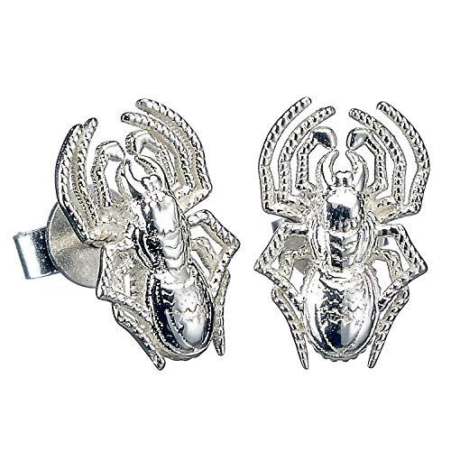 Harry Potter Pendientes de plata de ley con diseño de araña de aragog de The Carat Shop
