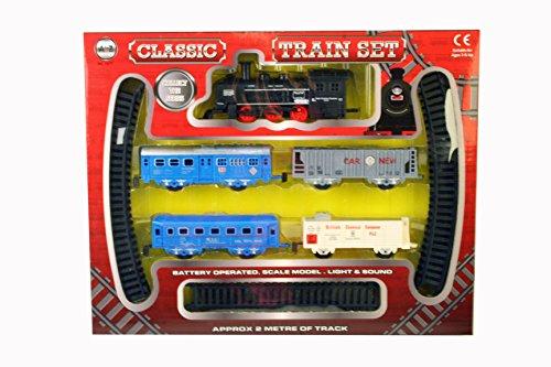 A bis Z 01577Classic batteriebetrieben Train Set mit Licht und Sound