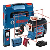 Bosch Professional 0601063R08 Nivel láser GLL 3-80 C y medidor de distancias GLM 20 [Exclusiva Amazon]