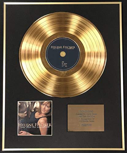 Century Music Awards - Helene Fischer - Exklusive limitierte Auflage 24 Karat Goldscheibe - Von Hier Bio
