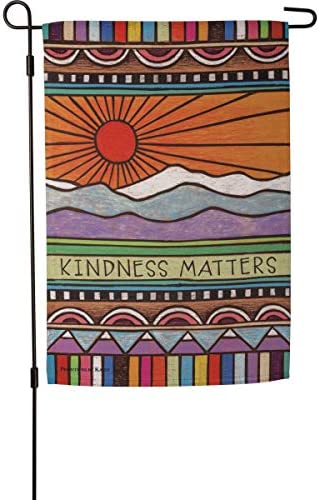 Primitives by Kathy 108599 Kindness Matters Garden Flag Multi product image