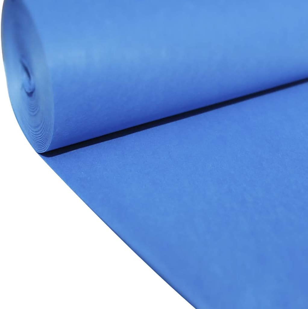 XHCmat Party Packs Aisle Disposable Runners Polypropylene Excellent Super beauty product restock quality top Blue