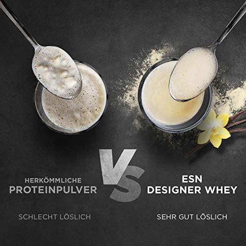 ESN Designer Whey Protein, Pro Series, Vanilla, 1er Pack (1 x 1000g Beutel) - 6
