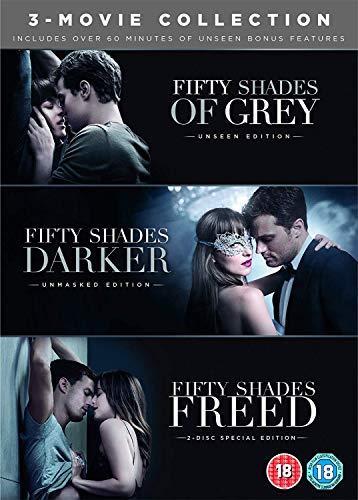 Photo of Fifty Shades Freed 3-Movie Boxset (DVD + Bonus Disc)