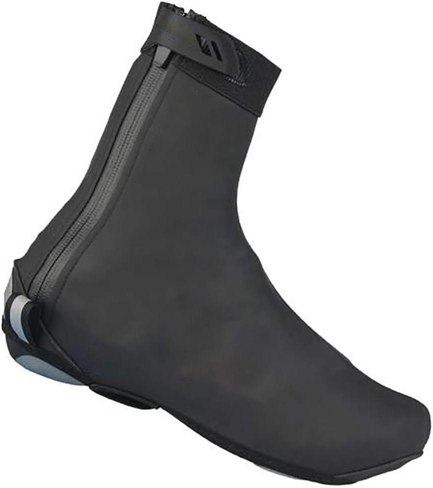 Yeyll Couvre-chaussures thermiques imperm/éables et r/éutilisables avec semelle /épaisse r/éfl/échissante pour VTT course v/élo de route