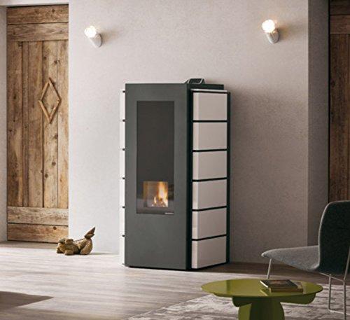 Pelletkachel ECOFIRE SABINA IDRO 20 kW in verschillende kleuren