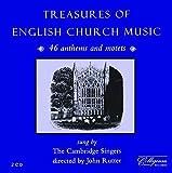 Treasures of English Church Music von The Cambridge Singers, John Rutter