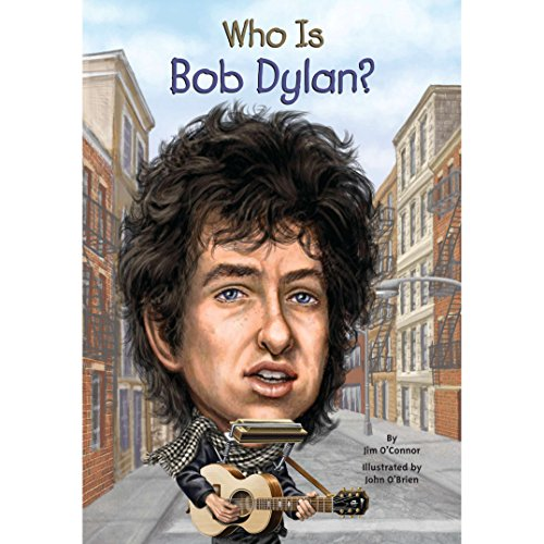 Who Is Bob Dylan? audiobook cover art