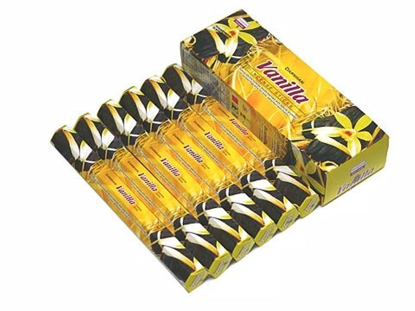 ジャンクションペット杖DARSHAN(ダルシャン) バニラ香 スティック VANILLA 6箱セット