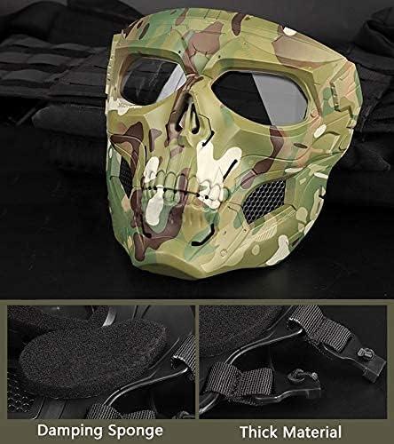 Camo paintball mask _image4