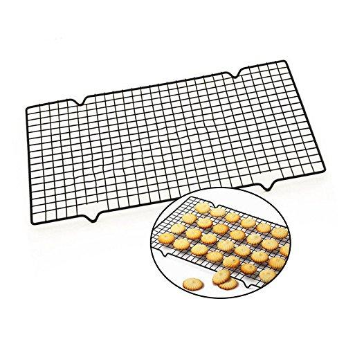 Hierwegoo Koekkoeling Rack, Bakplaten Nonstick Koolstofstaal Koeling Rek Houder Koekjes Koekjes Brood Drogen Koeler Stand Bakken Gereedschap Lade