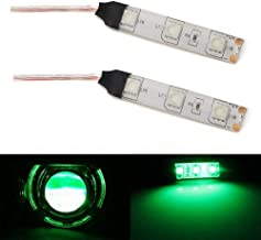 iJDMTOY Exotic Green Devil Demon Eye LED Strips Modules For Projector Headlights Retrofit
