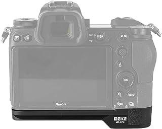 Meike MK-Z7G Soporte de sujeción rápida para placa L Base de metal Base compatible con Nikon Z6 Z7