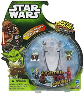 Star Wars, Fighter Pods Rampage Battle Game Pack Series 4, 4-Pack (Characters May Vary)