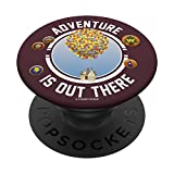 Disney Pixar Up Adventure Is Out There Flying House Patches PopSockets PopGrip: Swappable Grip for Phones & Tablets